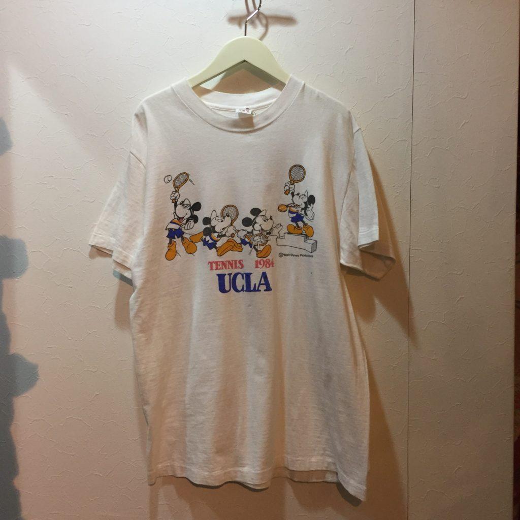 古着 キャラクターTシャツ ミッキー × UCLA 70S-80S TEE レディース
