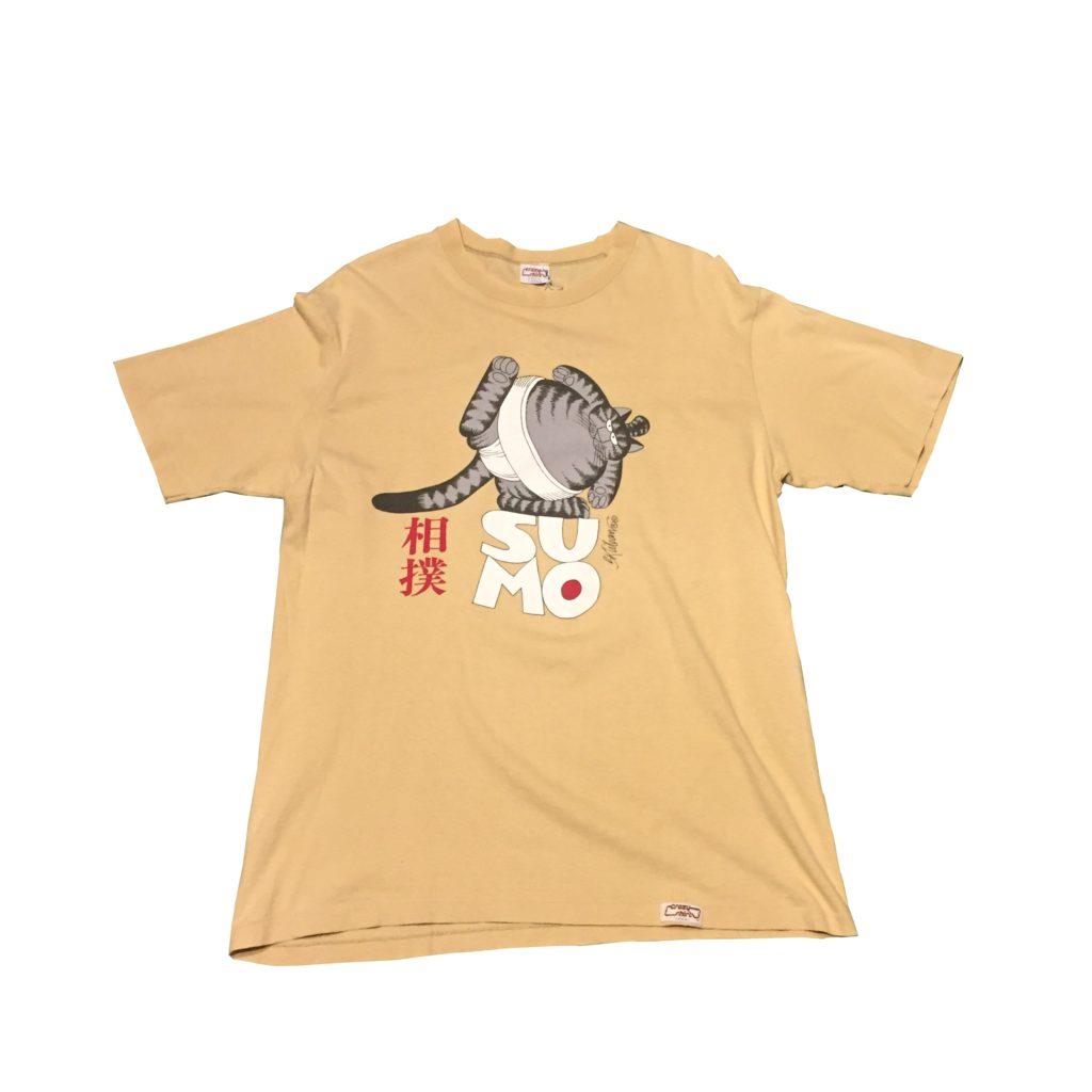 古着 Crazy shirt クリバンキャット 相撲 Tシャツ ユニセックス
