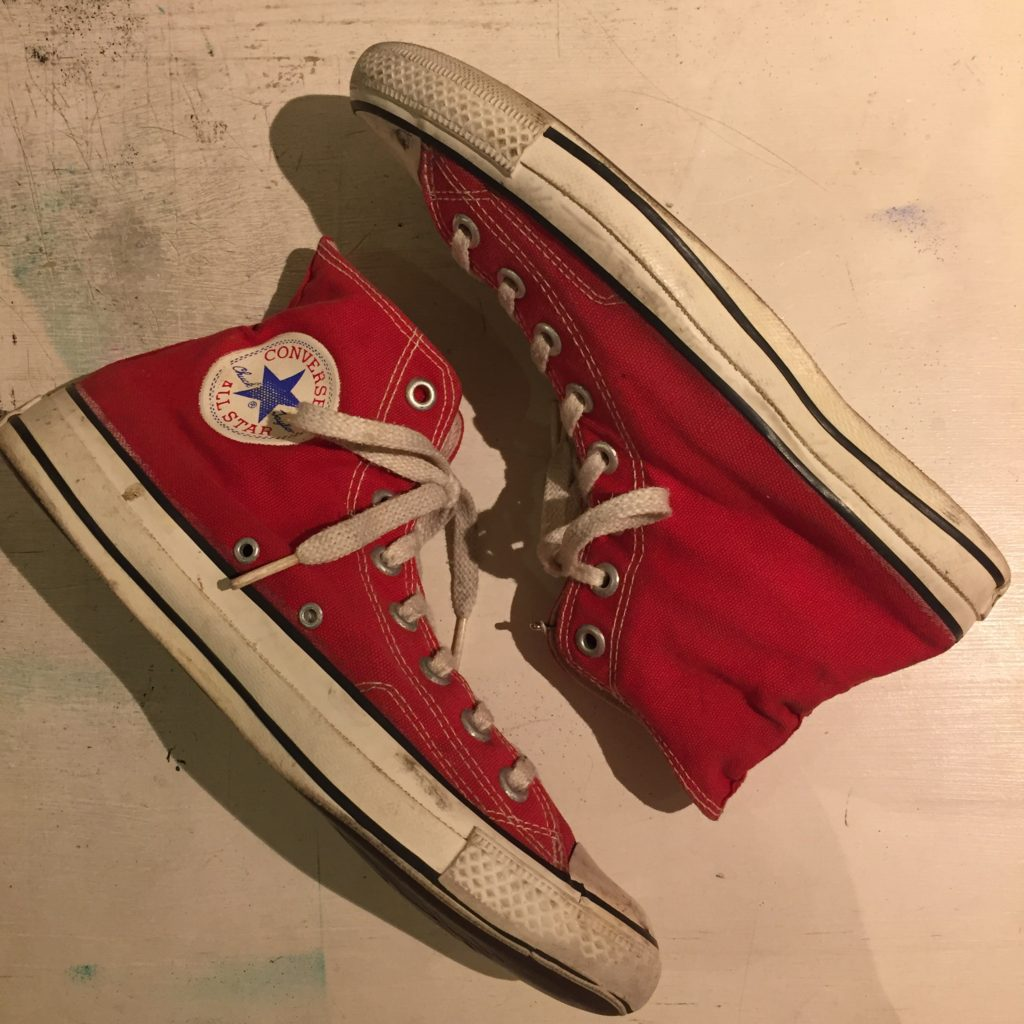 Vintage スニーカー KOREA製 converse ALL STAR Hi ユニセックス
