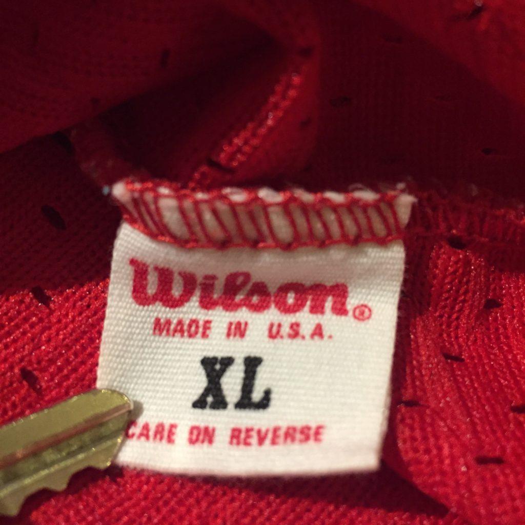 古着 フットボールTシャツ Wilson US製 ユニセックス レディース