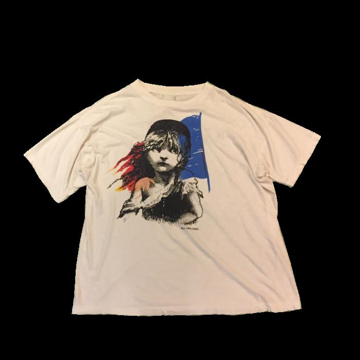 古着 Tシャツ Les Misérables LONDON公演 1986s ユニセックス