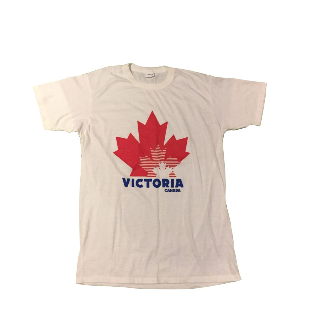 古着 Tシャツ CANADA製 メイプルリーフ ユニセックス
