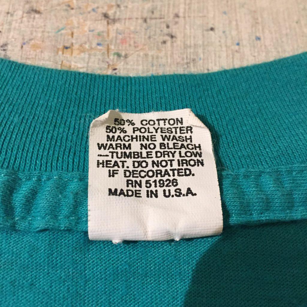 """古着 Tシャツ USA製 Don""""t Worry Be Happy ユニセックス"""