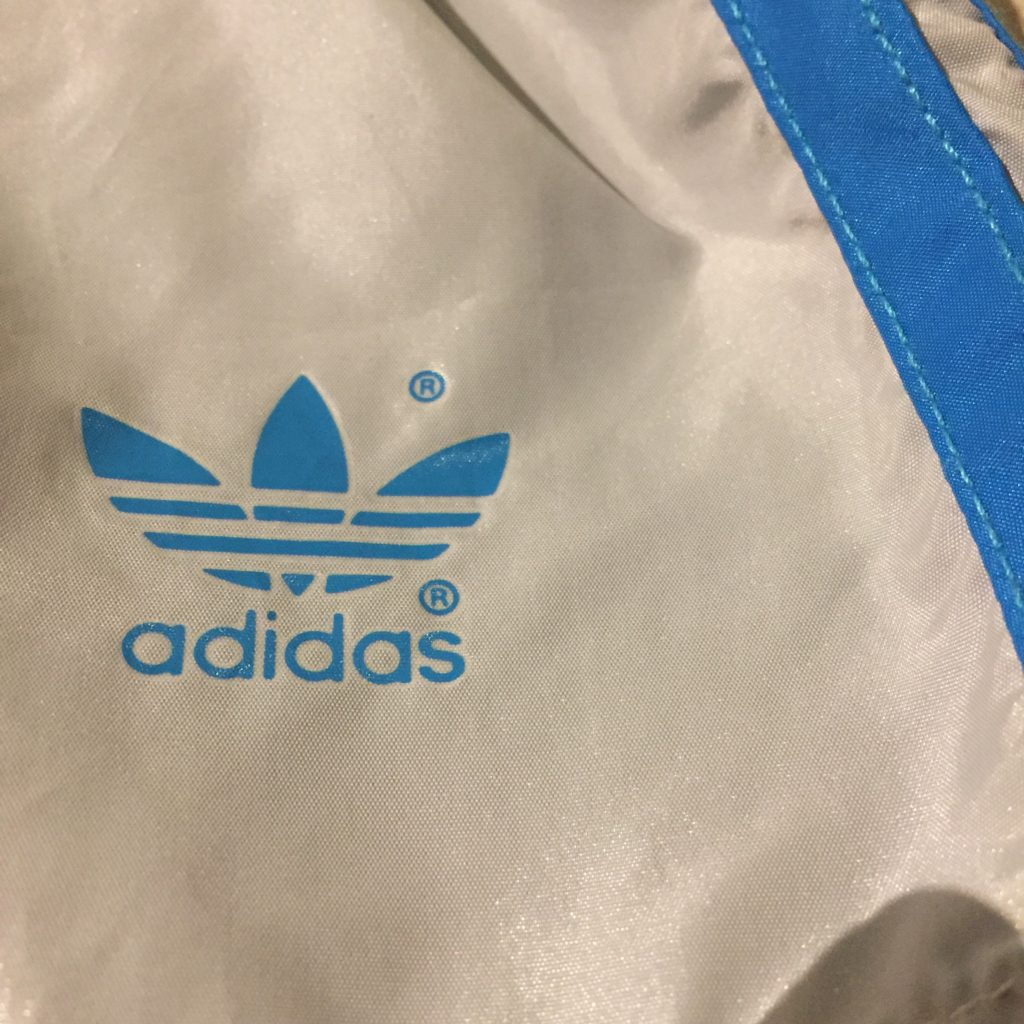古着 ボトム adidas 80s ショートジョグパンツ レディース