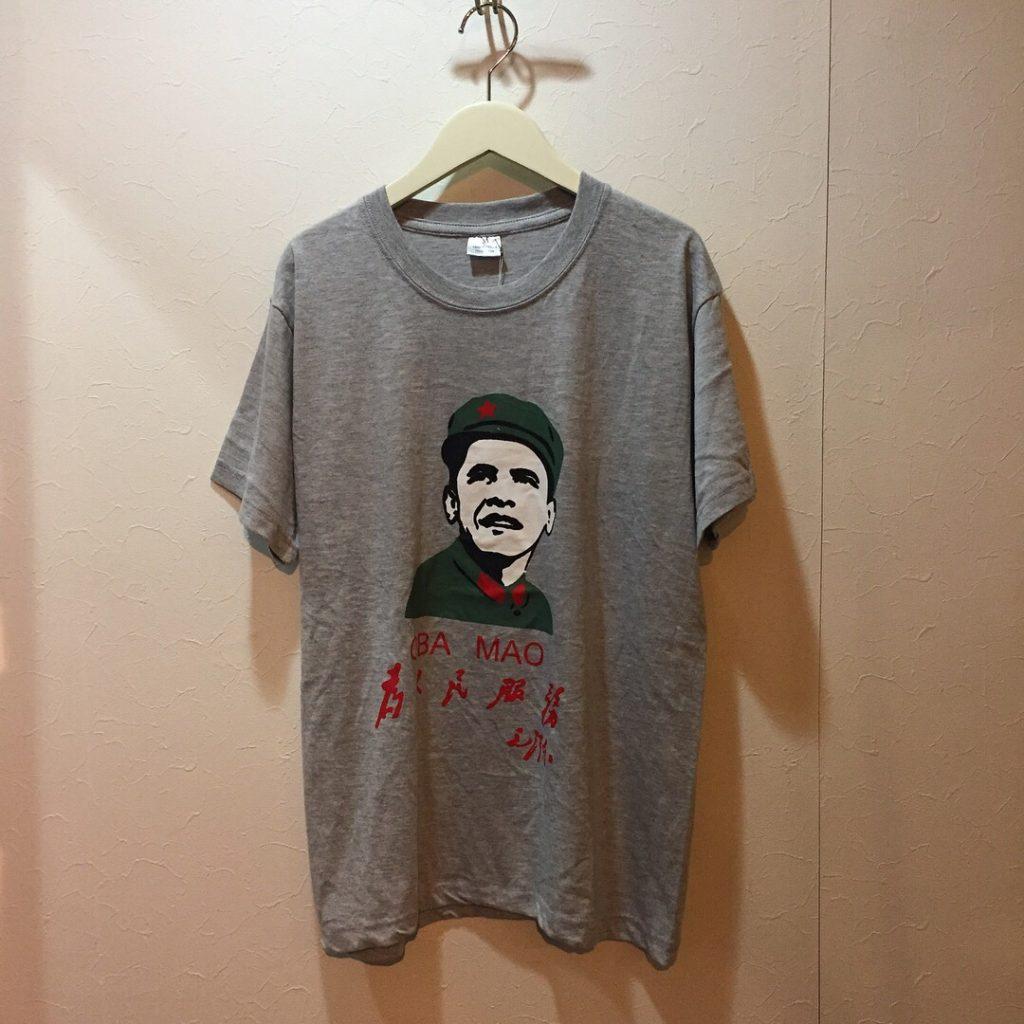 古着 Tシャツ オバマ OBA MAO ユニセックス