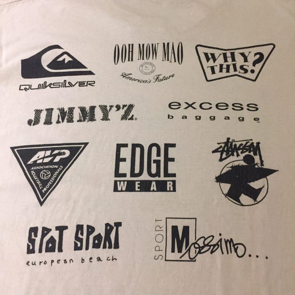 古着 Tシャツ STUSSY JIMMY'Z 協賛 EVOLUTION OF YOUTH 90s- ユニセックス