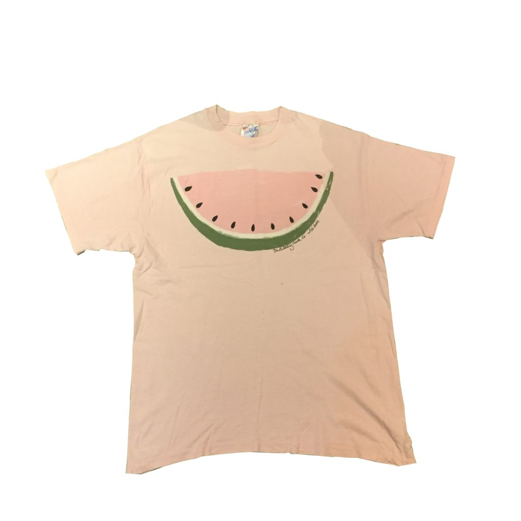 古着 Tシャツ スイカ 90s- Hanes ユニセックス
