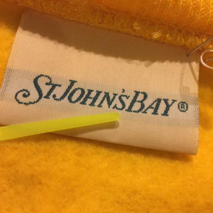 古着 スウェット USA製 ST JOHN'S BAY モコモコ ユニセックス