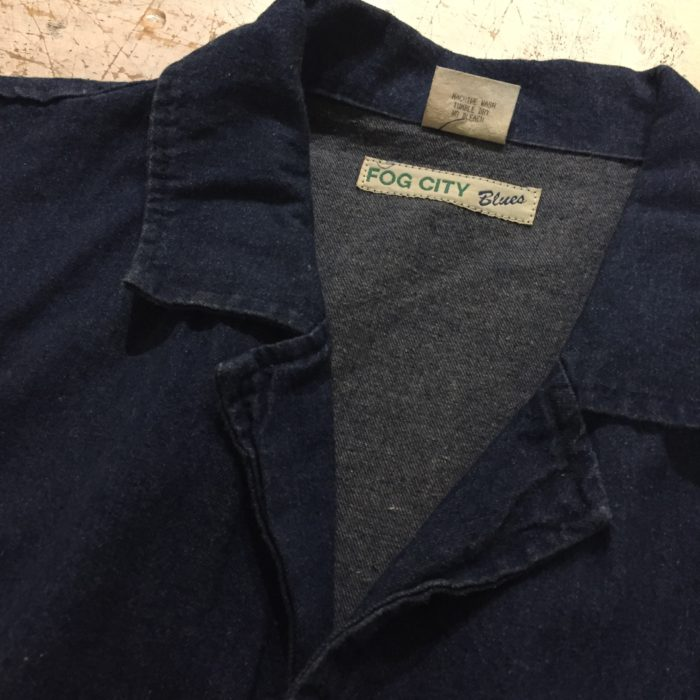 古着 デニム コート 80s- USA製 ユニセックス