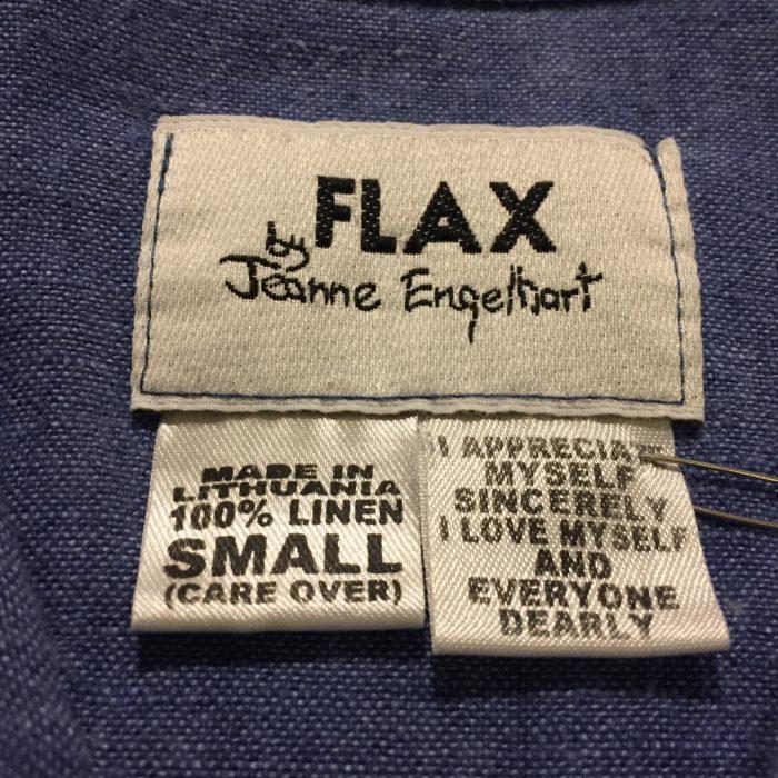 古着 シャツ リネン FLAX ユニセックス