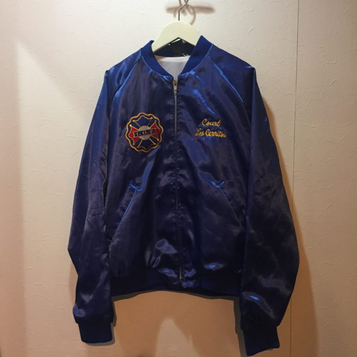 古着 ナイロンブルゾン 80s- UsMade レディース