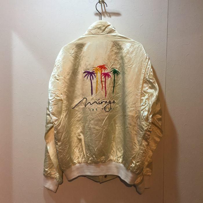 古着 ブルゾン 刺繍 ラスベガス ミラージュ ユニセックス