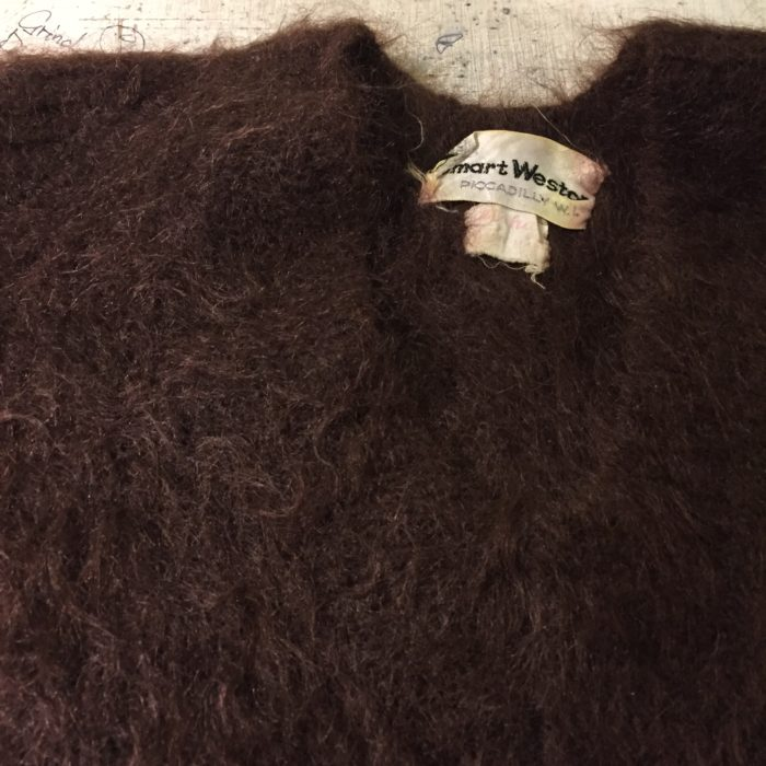 古着 MOHAIR モヘア ニットセーター Vintage レディース