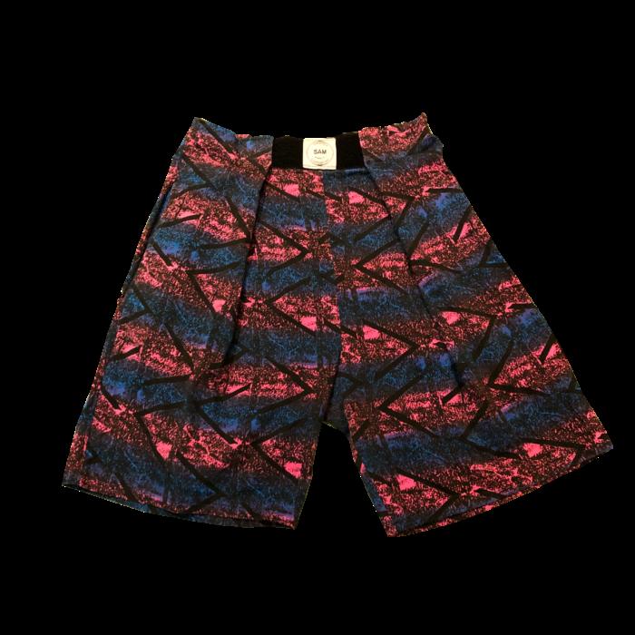80s- USA製 総柄 ビーチ ハーフパンツ ユニセックス