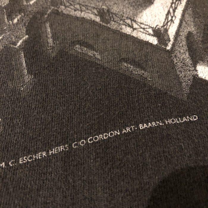 古着 Tシャツ MC escher アート ユニセックス