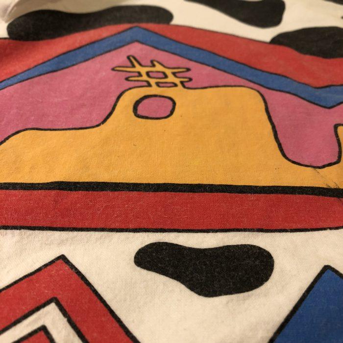 古着 シャツ ポップアート USA製 80S ユニセックス
