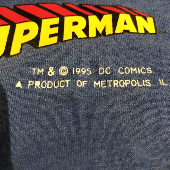 古着 Tシャツ スーパーマン 90S ユニセックス