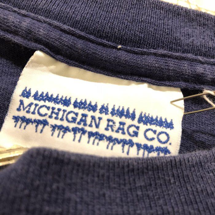 古着 Tシャツ MICHIGAN RAG USA製 ユニセックス