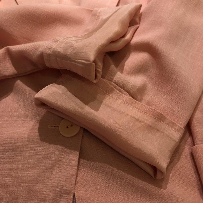 古着 ジャケット テーラード ピンク USA製 ユニセックス