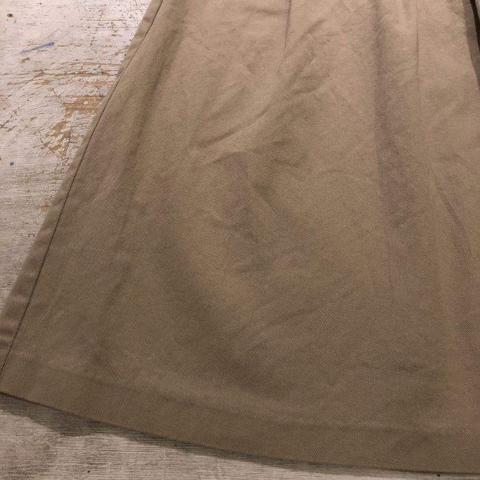 古着 スカート チノ Aライン 80S USA製 レディース