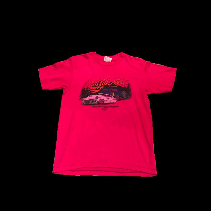 古着 Tシャツ Graffiti Night 80S USA製 ユニセックス