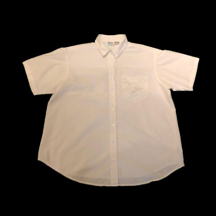 古着 シャツ OLDINDIA 白シャツ レース ユニセックス
