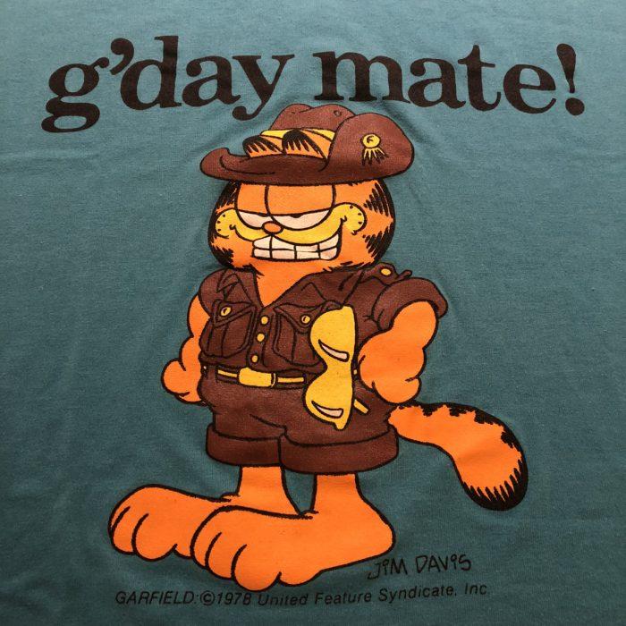 古着 GARFIELD Tシャツ ワンピース 70s- USA製 ユニセックス