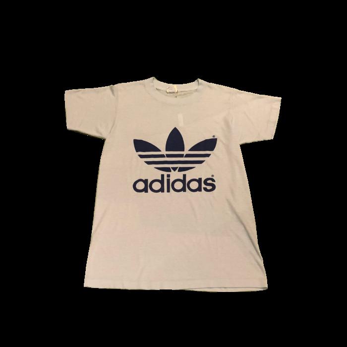 古着 Tシャツ adidas 80S トレフォイル ユニセックス