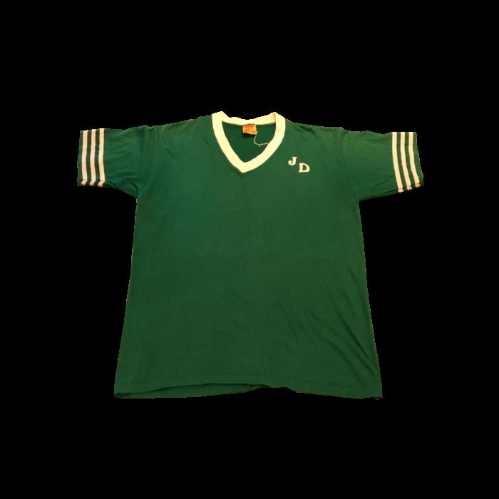 古着 Tシャツ ライン スポーツ ユニセックス