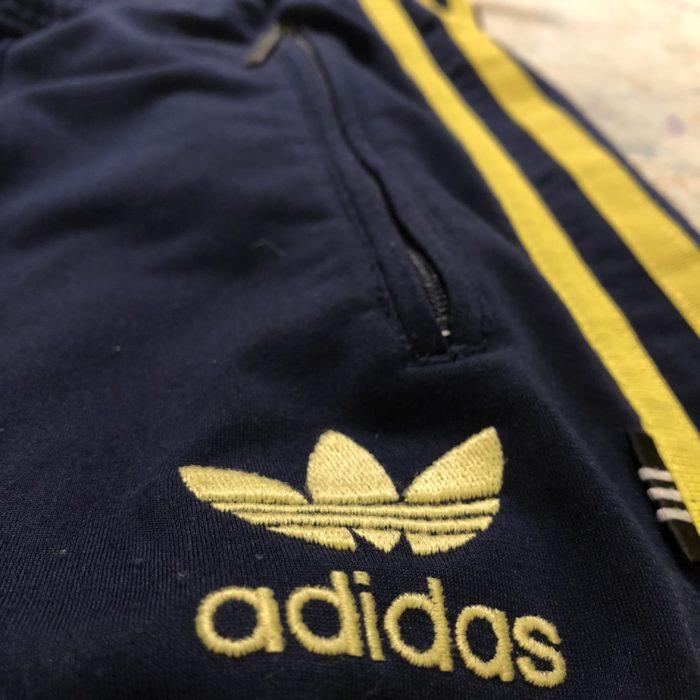 古着 adidas トラックパンツ Euro ユニセックス
