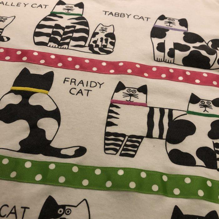 古着 Tシャツ 猫 CATS USA製 ユニセックス