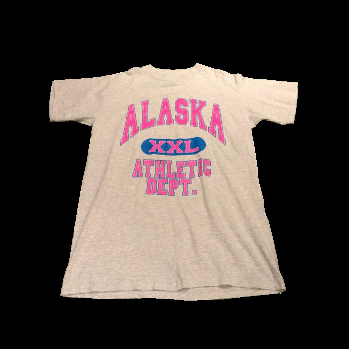 古着 Tシャツ ワンピース BigSize ラバープリント   USA製