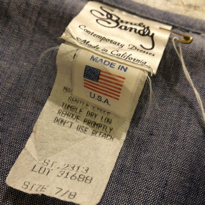 古着 Vintage ワンピース セーラーカラー  USA製 レディース