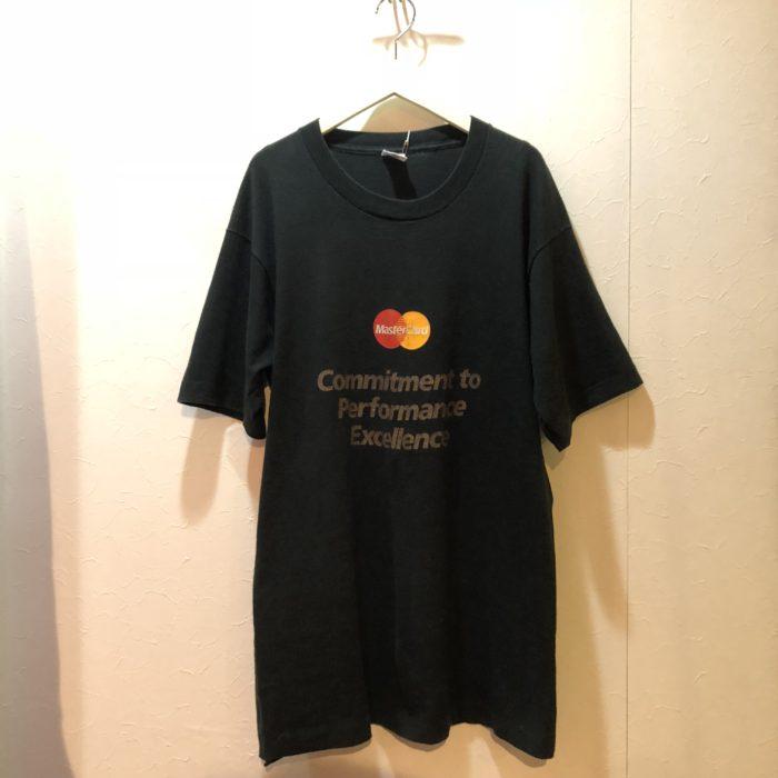 古着 Tシャツ MASTERCARD マスターカード 90S USA製 ユニセックス
