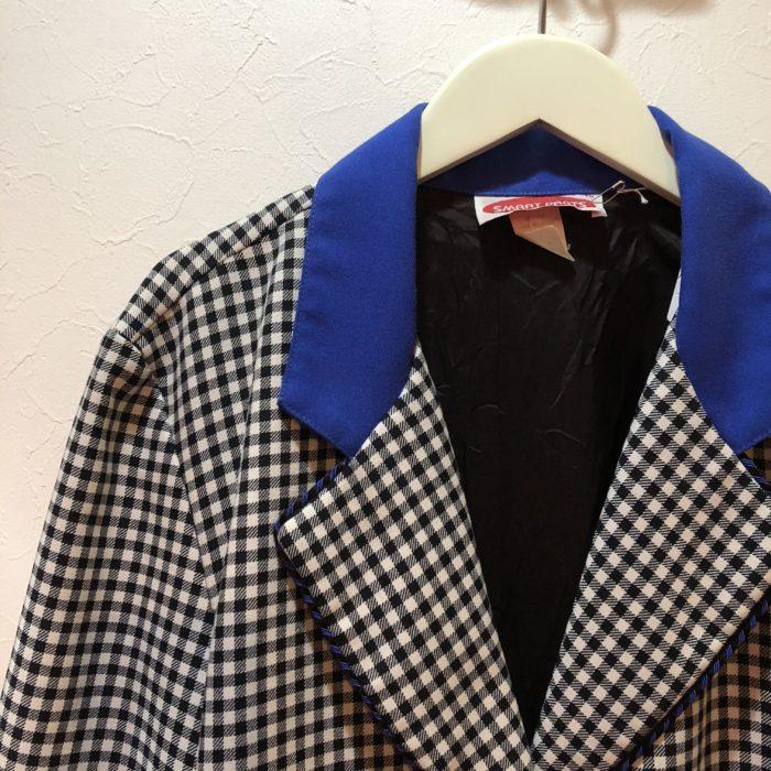 古着 デザインジャケット 80S USA製 レディース