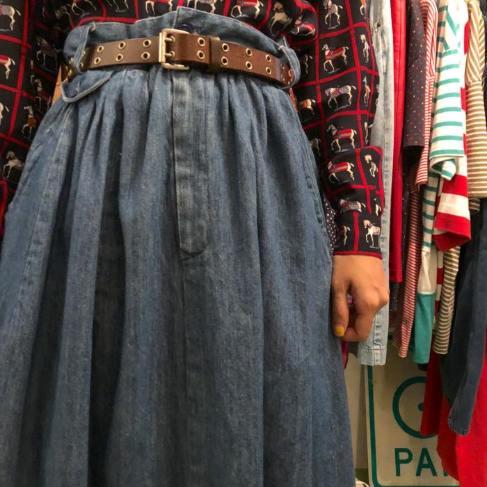 古着 Ralpn Lauren スカート OLD 80S レディース