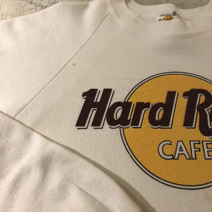 古着 HardRock CAFE スウェット LASVEGAS USA製 レディース