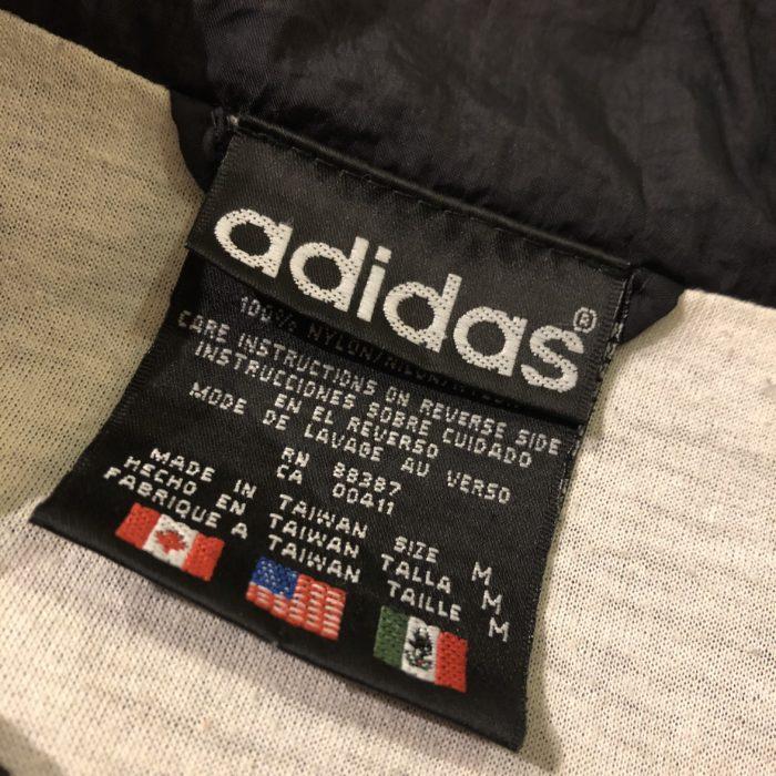 古着 adidas ナイロンジャケット 90s 00s ユニセックス