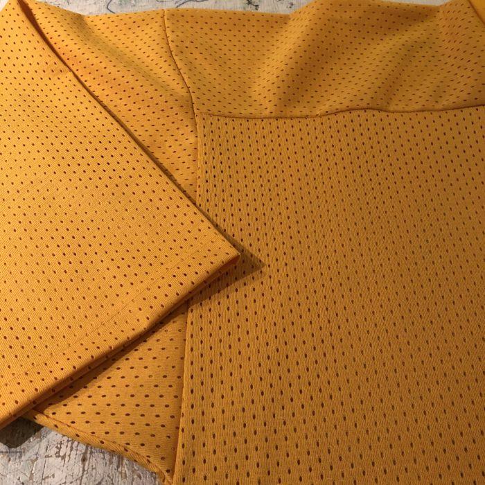 古着 スヌーピー ホッケーシャツ メッシュトップス USA製 ユニセックス