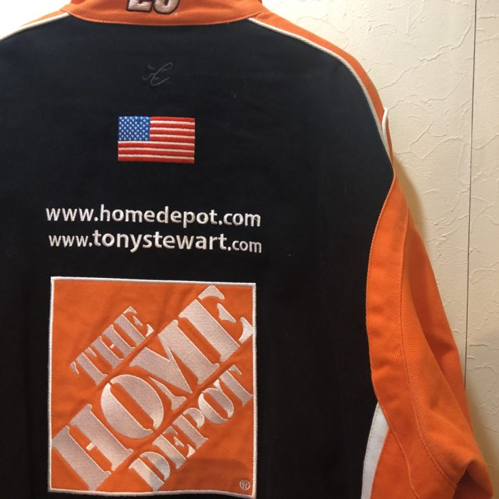 古着 THE HOME DEPOT tonystewart RacingJacket ユニセックス
