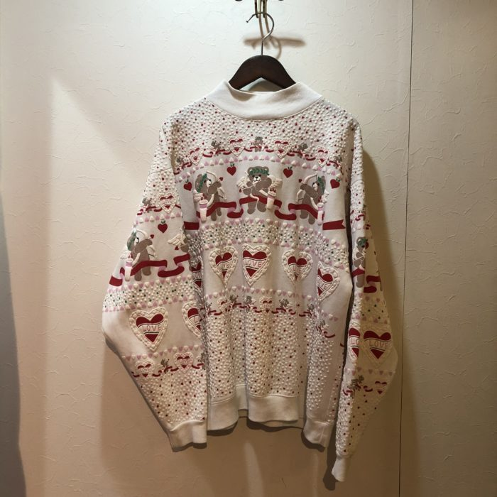 Lovery Bear Print Sweatshirts レディース