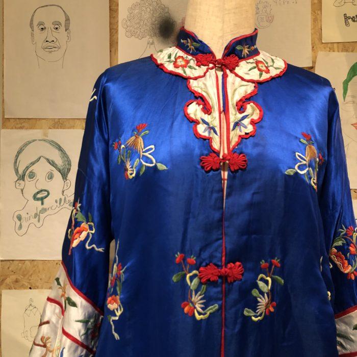 Vintage Mandarin gown ユニセックス