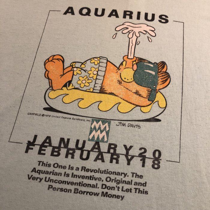 Garfield pajama tee ユニセックス