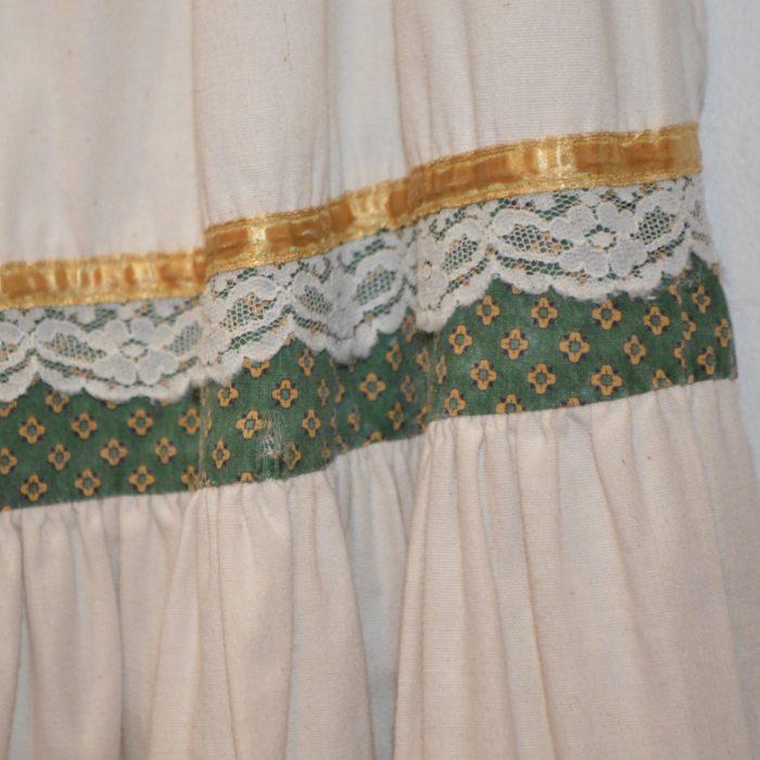70s- GUNNIES switching circle skirt レディース