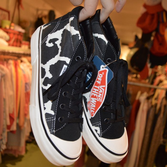 US VANS cow pattern レディース