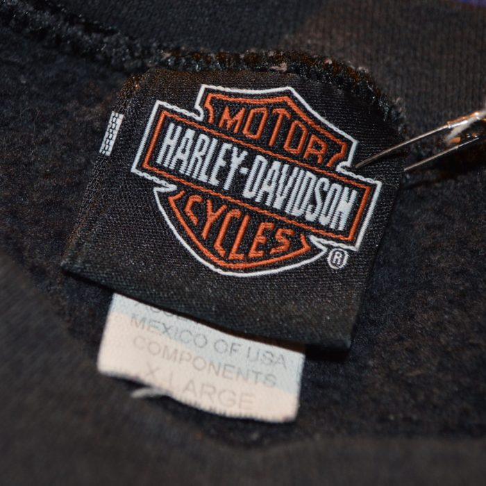 2001 Harley Davidson sweatshrts レディース