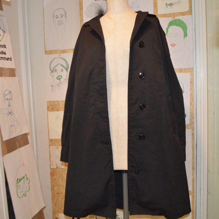 black nylon coat ユニセックス