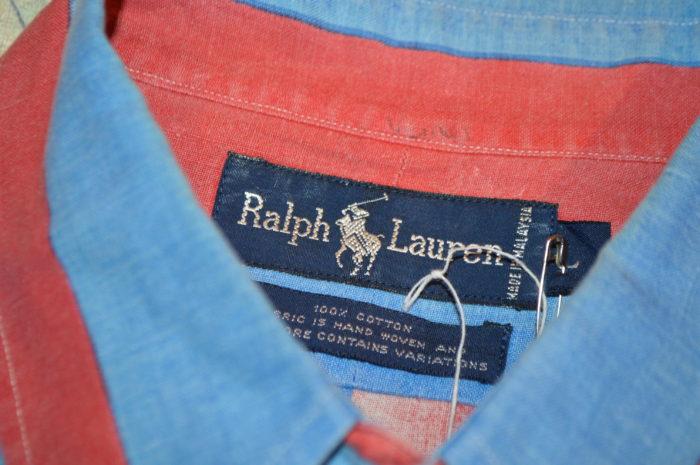 RalphLauren heavy stripe shirts ユニセックス