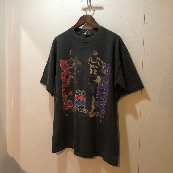 1991 NBA THE FINAL BULLS VS LAKERS Tee ユニセックス