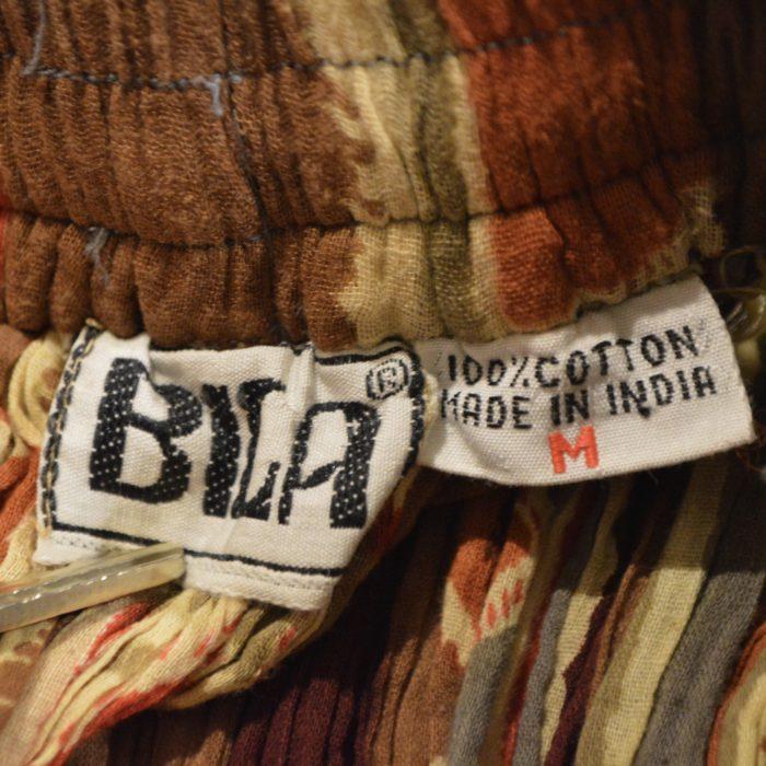 70s- OLD INDIA cotton skirt レディース